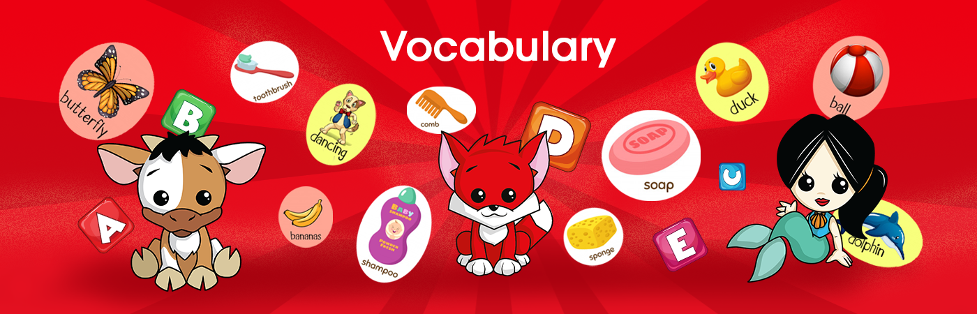 vocabulary banner RedFox Education